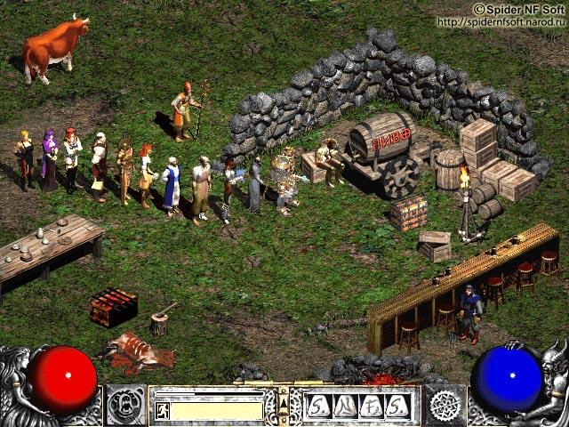 "Галерея ""Game cOVER"" - Diablo2. Когда нет игроков...: http://spidernfsoft.ru/gamecover/game10.shtml"
